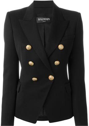 Balmain double breasted blazer