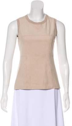 Calvin Klein Collection Sleeveless Paneled Top