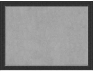 Amanti Art Corvino Black 31x23 Framed Magnetic Board