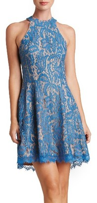 Women's Dress The Population Angie Halter Dress $198 thestylecure.com