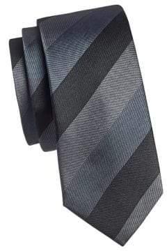 Kenneth Cole Reaction Striped Silk Tie