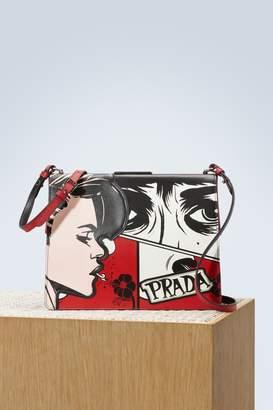 Prada Comics shoulder bag