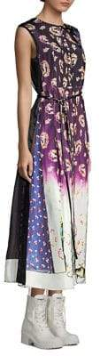 Marc Jacobs Photo Print Midi Dress
