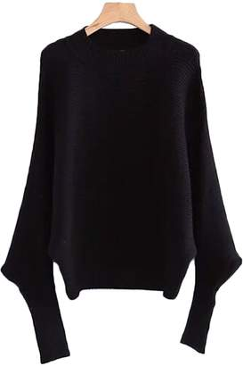 Goodnight Macaroon 'Carter' Ribbed Batwing Sweater (3 Colors)