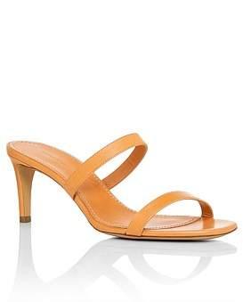 Mansur Gavriel Skinny Double Strap Heel