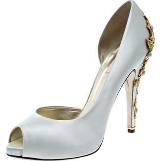 af0d633f761 Valentino Gray Heels - ShopStyle