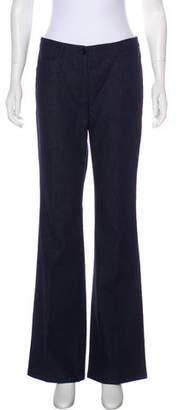Akris Punto Mid-Rise Wide-Leg Jeans