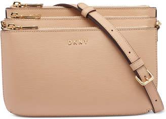 DKNY Bryant Triple Zip Crossbody, Created for Macy's