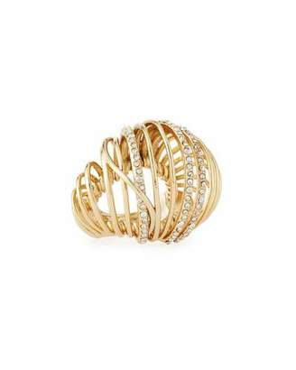 Alexis Bittar Orbital Spiral Cocktail Ring $225 thestylecure.com
