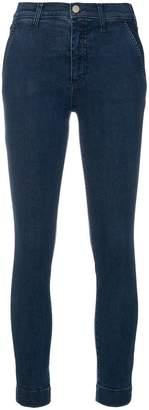 Les Copains cropped stretch jeans