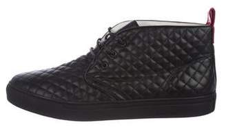 Del Toro Quilted Leather Sneakers