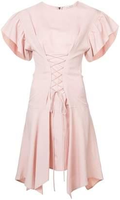 Ulla Johnson lace front ruffle dress