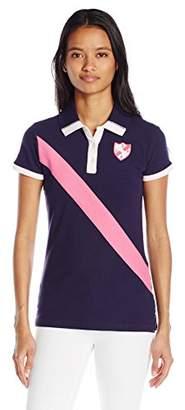 U.S. Polo Assn. Junior's Diagonal Sash Embellished Polo Shirt