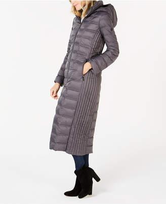 Michael Kors Hooded Maxi Puffer Coat