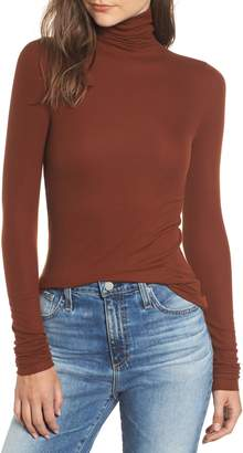 AG Jeans Chels Ribbed Turtleneck Sweater