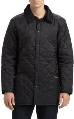 Barbour Liddesdale Quilted Jacket $179 thestylecure.com