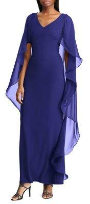 a353a0826de4 Lauren Ralph Lauren Blue Evening Dresses - ShopStyle