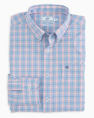 Southern Tide Freedom Rocks Plaid Intercoastal Performance Shirt