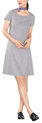 Esprit Women's 106EE1E020 Dress, Grey