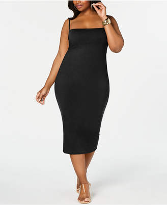 Rebdolls Strappy Midi Dress By The Workshop At Macy, Regular & Plus Sizes