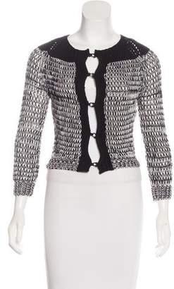 M.PATMOS Cropped Wool Cardigan