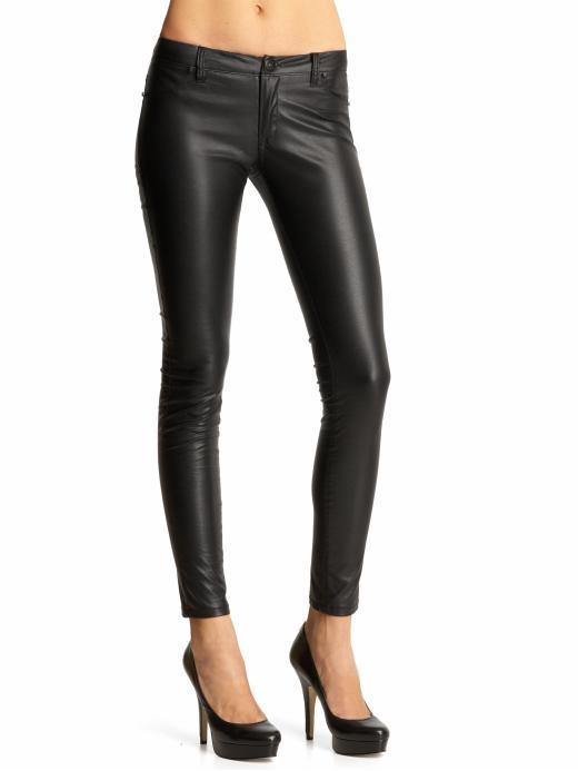 Blank Denim Vegan Faux Leather Skinny Pants