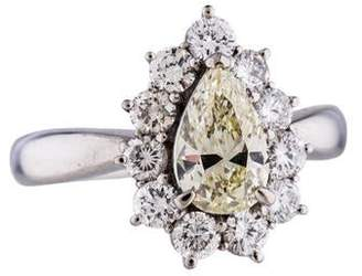 Platinum 1.10ct Diamond Engagement Ring