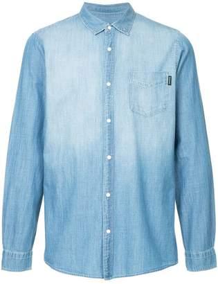 GUILD PRIME washed denim shirt