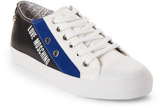 Love Moschino Black & Blue Low-Top Sneakers