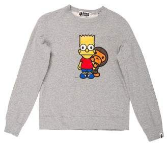 A Bathing Ape x Simpsons Baby Milo Sweatshirt