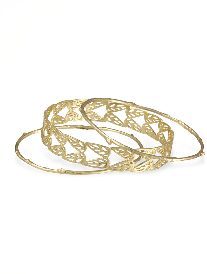 Kendra Scott Holly Bangles, Set of 3