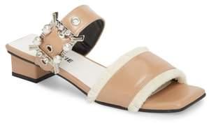 YUUL YIE Embellished Slide Sandal