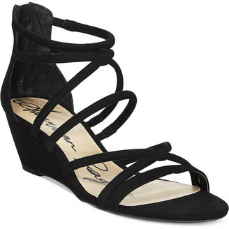 American Rag Calla Demi Wedge Sandals, Only at Macy's $59.50 thestylecure.com
