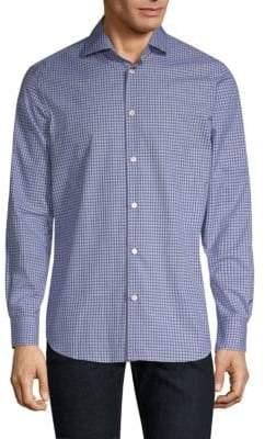 Paul Smith Gingham Soho-Fit Dress Shirt