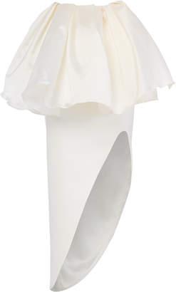 Maticevski Blossom Peplum Taffeta Skirt Size: 6