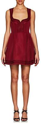 RED Valentino WOMEN'S FAILLE A-LINE DRESS