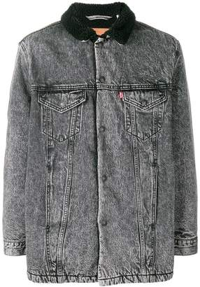 Levi's Trucker lined denim jacket