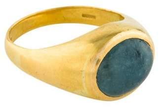 Pippa Small 18K Aquamarine Ring