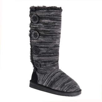 Muk Luks Womens Liza Winter Boots Pull-on