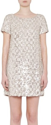 Women's French Connection Snow Sequin Dress $278 thestylecure.com