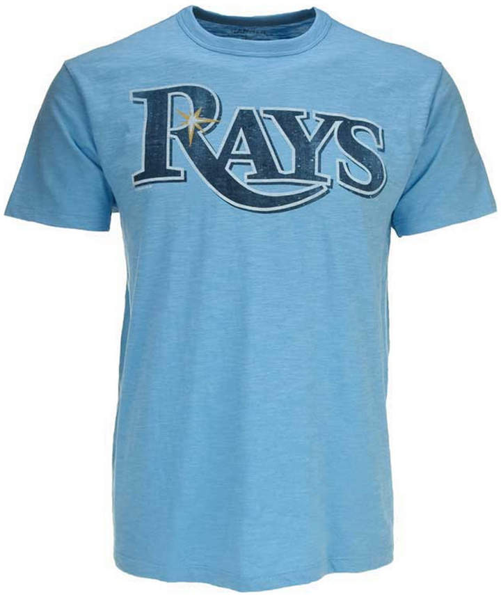 '47 Brand Men's Tampa Bay Rays Scrum Wordmark T-Shirt