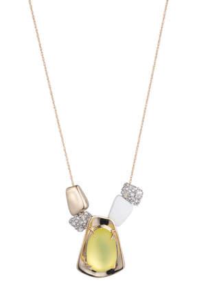 Alexis Bittar Liquid Gold Sliding Pendant Necklace