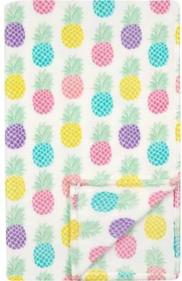 George Home Super Soft Extra Large Pineapple Print Throw