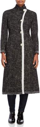 Derek Lam Felted Edge Tweed Coat