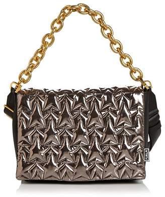 Furla Bomber Small Leather Shoulder Bag