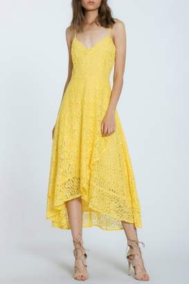 The Room Lace Overlay Dress