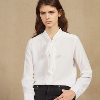 Sandro Shirt with ruff collar