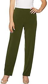 Susan Graver Liquid Knit Pants withGrommets