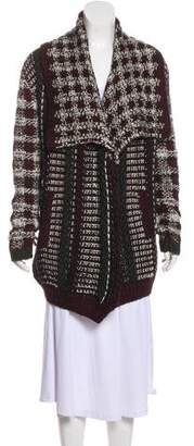 Yigal Azrouel Wool Knit Cardigan