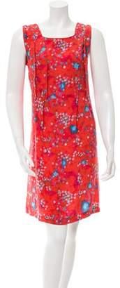 Cacharel Silk Printed Dress